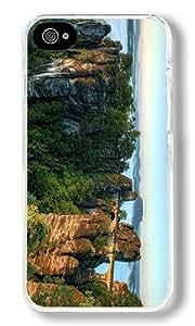 Germany Bridges Bastei Bridge Custom iPhone 5c Case Back Cover, Snap-on Shell Case Polycarbonate PC Plastic Hard Case Transparent
