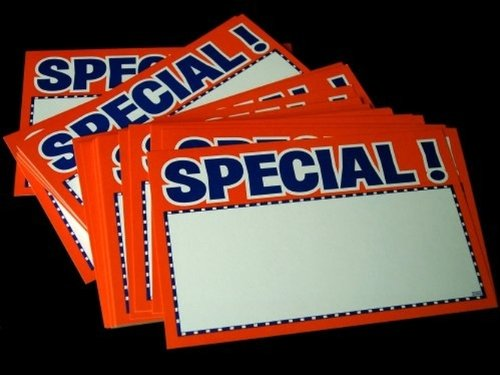 SkuBros Florescent Orange Special Retail Tags (Marco Polo Costume)