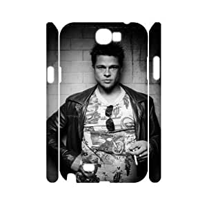 C-EUR Brad Pitt Customized Hard 3D Samsung Galaxy S6