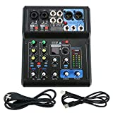 Best Usb Mixers - Professional Mini 6 Channel Live Mixer Mixing Studio Review