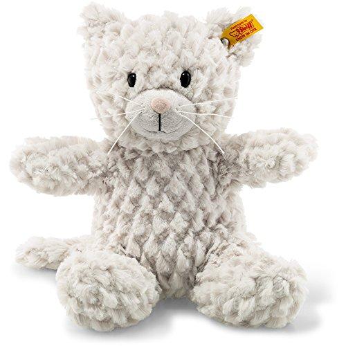 Steiff Plush Kitty Cat - Soft And Cuddly Plush Animal Toy - 12
