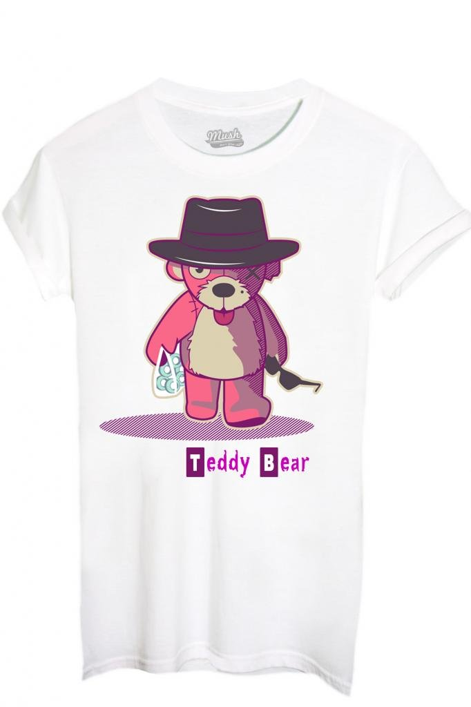 T-SHIRT TEDDY BEAR 2 BREAKING BAD-FILM by MUSH Dress Your Style