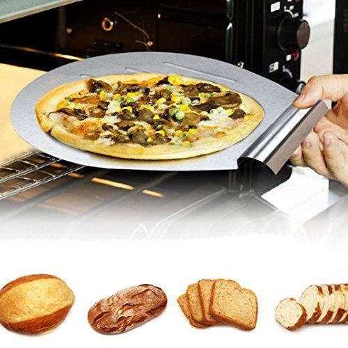(Gotd Cake Baking Tools Cake Shovel Transfer Cake Tray Moving Plate Cake Lifter (Sliver))