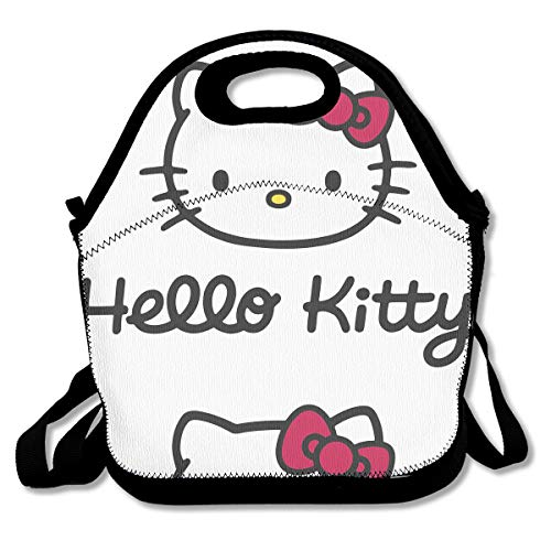 Meirdre Lunch Box Hello Kitty Head Insulated Personalized