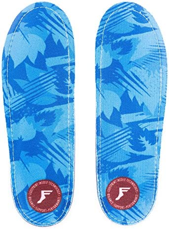 Kingfoam Orthotic Low Profile Insoles Blue Camo