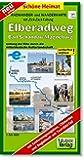 Radwanderkarte Elberadweg Bad Schandau - Magdeburg: entlang der Elbe durch die mitteldeutsche Kulturlandschaft. 1:50000. (mit Zick-Zack Faltung) (Schöne Heimat)