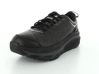 Hoka One One Mens Valor LTR Black Sneaker - 10