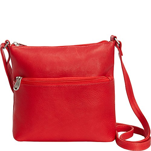 Red Leather Ursula Le Crossbody Donne IvqW4wz6