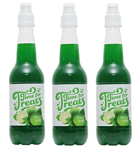 (Pack of 3 Victorio Time for Treats Snow Cone Syrups 16.9oz Made in USA)