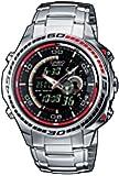 CASIO EFA-121D-1AVEF Edifice - Reloj de caballero de cuarzo, correa de acero inoxidable, color plata
