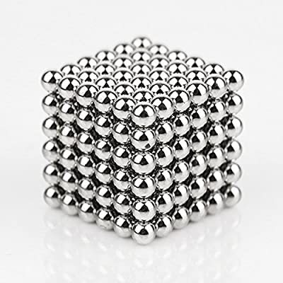Kemuse Magnetic Ball, Magnetic Sculpture Toys for Intelligence Development and Stress Relief(5MM Set of 216 Balls) from Kemuse