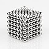 Kemuse Magnetic Ball, Magnetic Sculpture Toys for Intelligence Development and Stress Relief(5MM Set of 216 Balls)