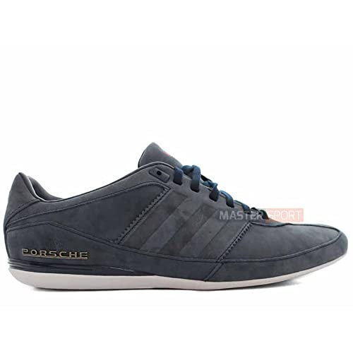 detailed look 796cc 55ee5 Adidas Originals Porsche Design Typ 64 Suede Trainers in Navy Blue M20593   UK 7.5 EU
