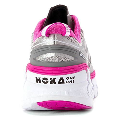 HOKA ONE ONE Womens Conquest 2 Running Sneaker Shoes Pink 9Rmp7tFb