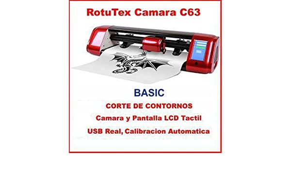 PLOTTER DE CORTE ROTUTEX C63 ARMS LAPOS AUTOMATICO: Amazon.es ...