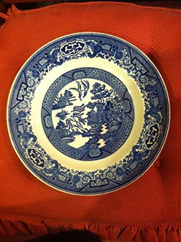 (Willow Ware Royal China Underglaze Plate 9