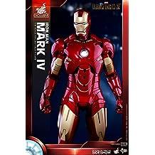 Movie Masterpiece Iron Man 2 IRON MAN MARK IV 1/6 Action Figure Hot Toys statue