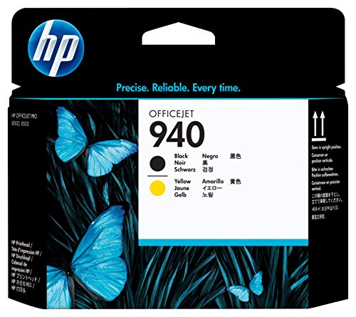 HP 940 Black/Yellow Printhead (C4900A)