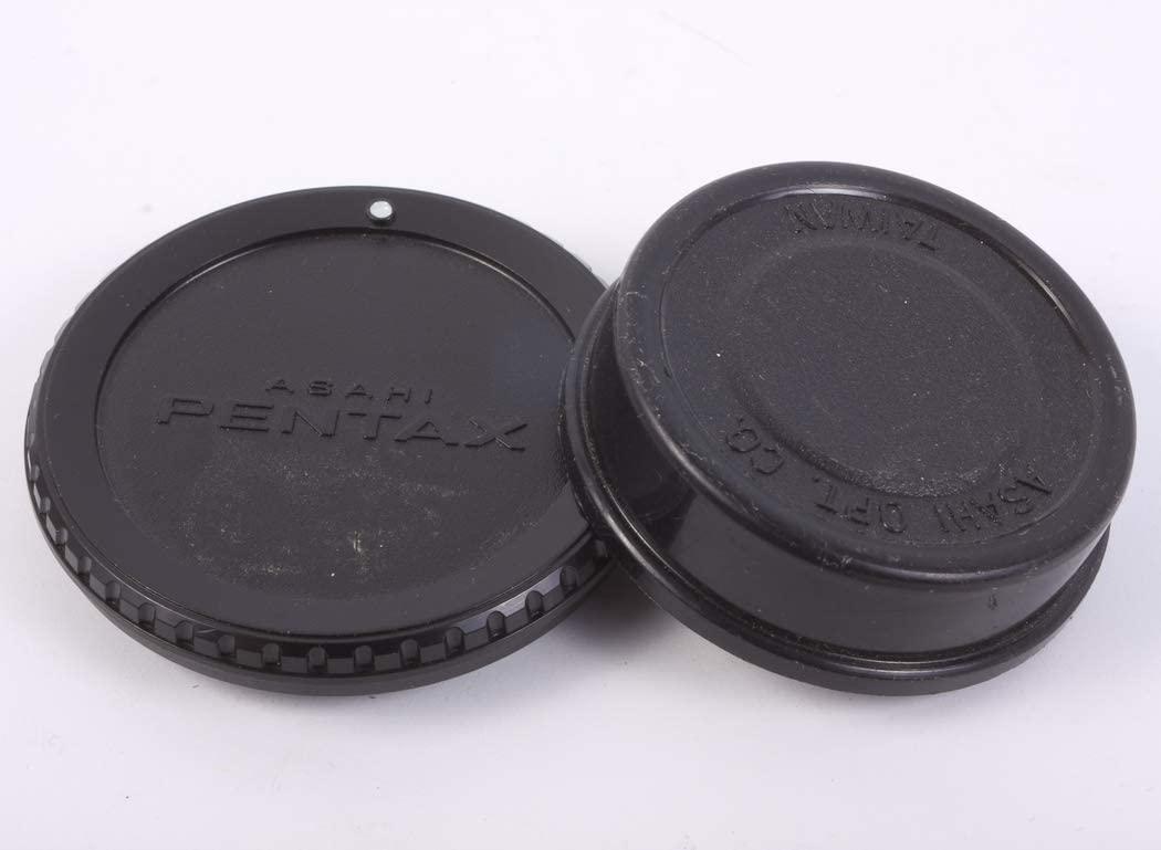 Original K Mount Body Cap /& Rear Lens Cap
