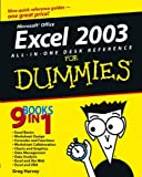 Excel 2003 All-in-One Desk Reference for Dummies®, Greg Harvey, 076453758X