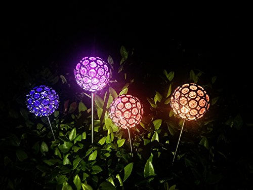 Solar Lights Garden Yard Decorations - Decorative Solar Garden Lights for Outdoor