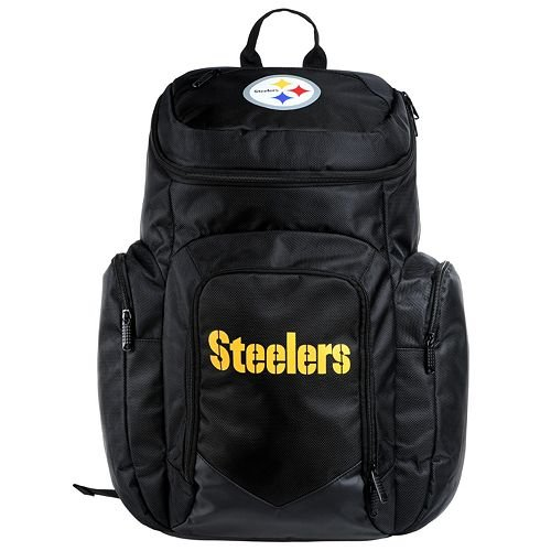 NFL Pittsburgh Steelers Traveler Backpack at Steeler Mania