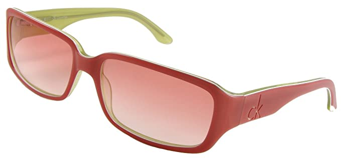 Amazon.com: Calvin Klein cK 4041S Sunglasses, Coral Frame ...
