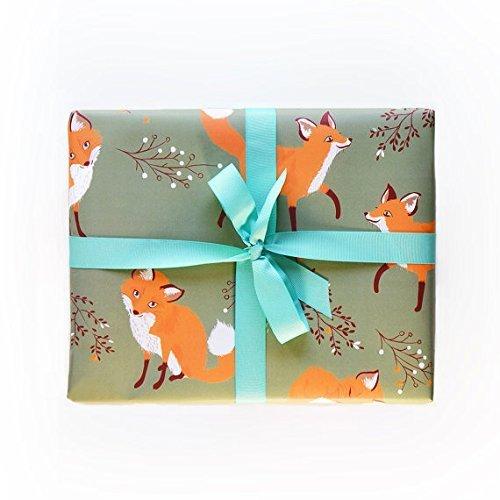 Sea Urchin Studio Gift Wrap Little Foxes