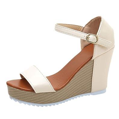 954ee83771457f Amazon.com  Platform Sandals for Women s