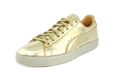 0b35541cf350 PUMA Men s Suede Classic 50th Gold Gold 4 ...