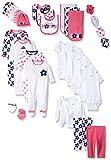 Gerber Baby 30 Piece Registry Essentials Gift Set, Flower, New Born