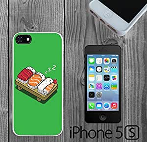 Cute Sleeping Sushi Custom made Case/Cover/skin FOR iPhone 5/5s