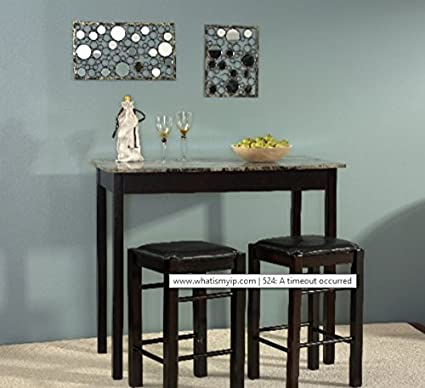 Dining Room Sets For Small Spaces, 3 Pieces Dining Room Sets For Small Space  Counter