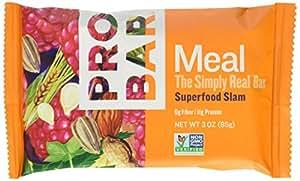 PROBAR Meal Bar, Superfood Slam, 3 oz (Pack of 12)