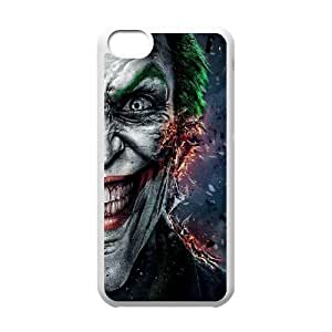 The Joker ROCK0099529 Phone Back Case Customized Art Print Design Hard Shell Protection Iphone 5C