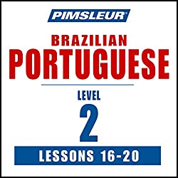 Pimsleur Portuguese (Brazilian) Level 2 Lessons 16-20