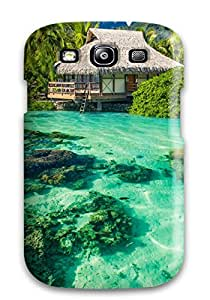 Galaxy High Quality Tpu Case/ Seascape Case Cover For Galaxy S3 3283785K58196486