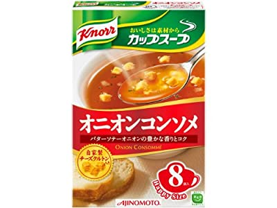 Ajinomoto Knorr Cup Soup onion consomme 8 bags input 92g ~ 6 pieces