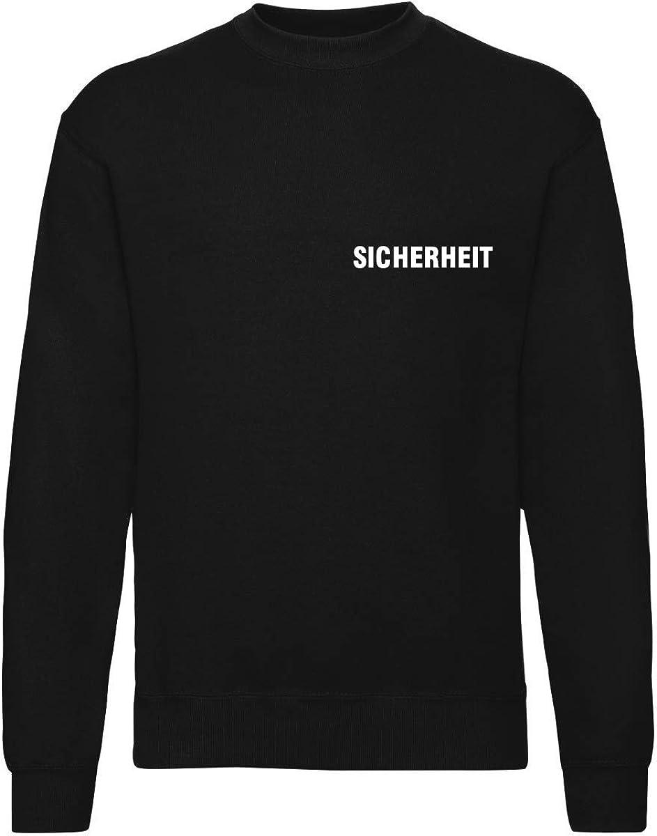 Jacke Bedruckt mit Sicherheit T-Shirt Warnweste Sweatshirt Hoodie Poloshirt
