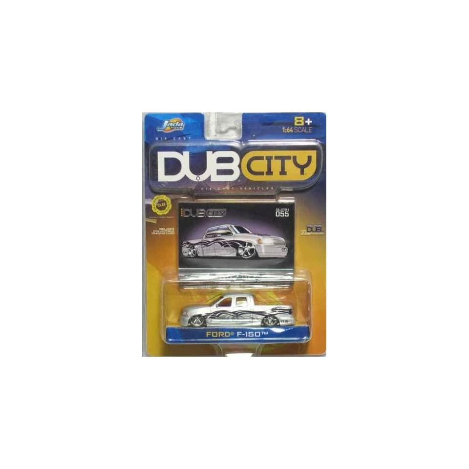 Jada Dub City Silver Ford F 150 164 Scale Die Cast Car Truck