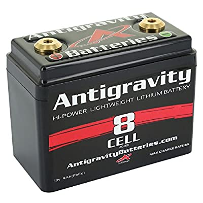 Antigravity Batteries AG-801 Black One Size Powersports Battery
