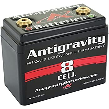 motorcycle battery pic  Amazon.com: Antigravity Batteries AG-801 8-Cell Lithium Ion ...