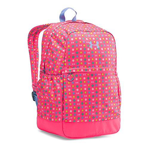 Under Armour Girls' Favorite Backpack, Harmony Red/Purple Ice, One Size (Under Armour Y Backpack)