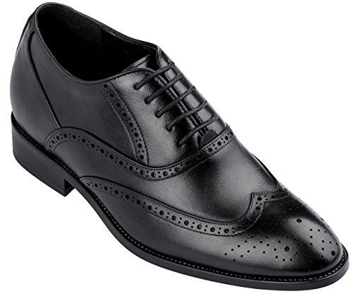 """CALDEN k9g 018-6,60 (2,6"""")-Tappetto cm, altezza aumentare ascensore Scarpe formali, colore abito: nero"""