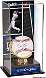 Cody Bellinger Los Angeles Dodgers Autographed Baseball and 2017 Rookie of the Year Sublimated Display Case with Image - Fanatics Authentic Certified