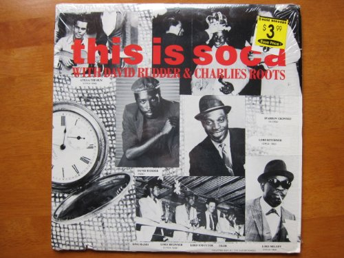 This Is Soca with David Rudder and Charles Roots. 1987 2-LP (Rudder Set)
