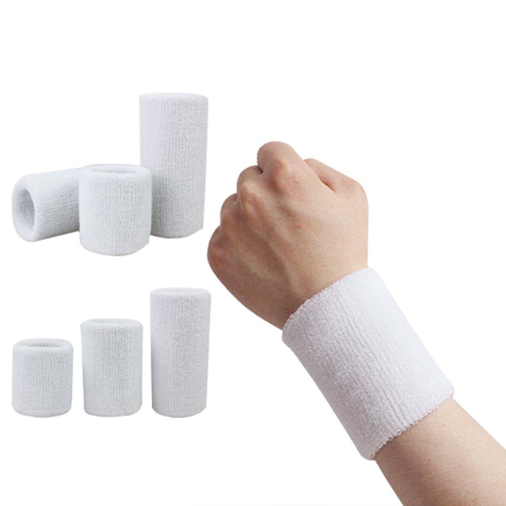 Skisneostype Poignet /Éponge Coton Athl/étique Sport Bracelet en Tissu /Éponge Poignet /Éponge Sport Anti-transpiration Bandeau de Protection Pour Poignet