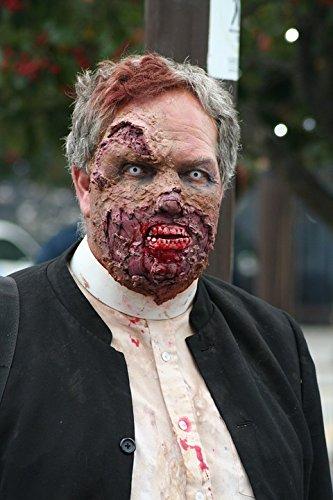 LAMINATED POSTER Halloween Zombie Monster Undead Horror Zombie Walk Poster 24x16 Adhesive (Zombie Walk Halloween)