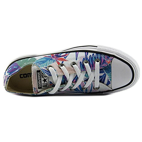Tropical Mens Low White Canvas Stars OX Top Print All Fresh Chuck Cyan Taylor Trainers Magenta Converse xXZqdad