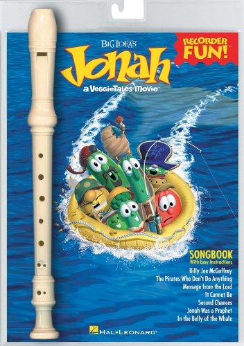 Hal Leonard Jonah Veggietales Recorder Fun! Pack